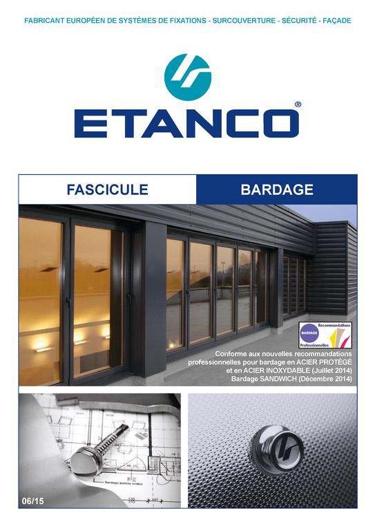 Fascicule Technique Bardage 10/2014