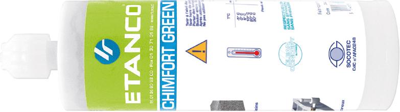 pluggen voor chemische afdichting, chimfort green
