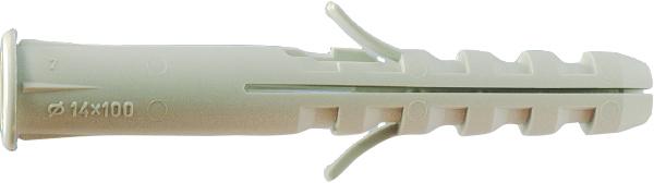 Cheville plastique avec piton, RAVALCO/P, Amarrage pour Échafaudage