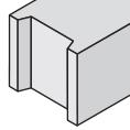 volle betonblok