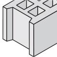 holle betonblok